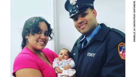 The 5-month-old daughter of an NY firefighter dies from Covid-19