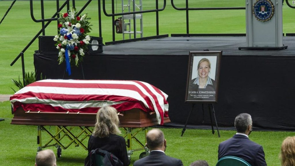 FBI agent, mother of two, honored at memorial service: 'We will never forget you'