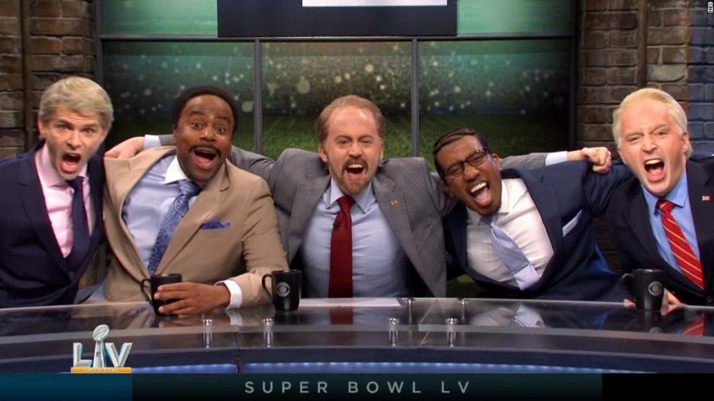 'Saturday Night Live' takes on Super Bowl LV