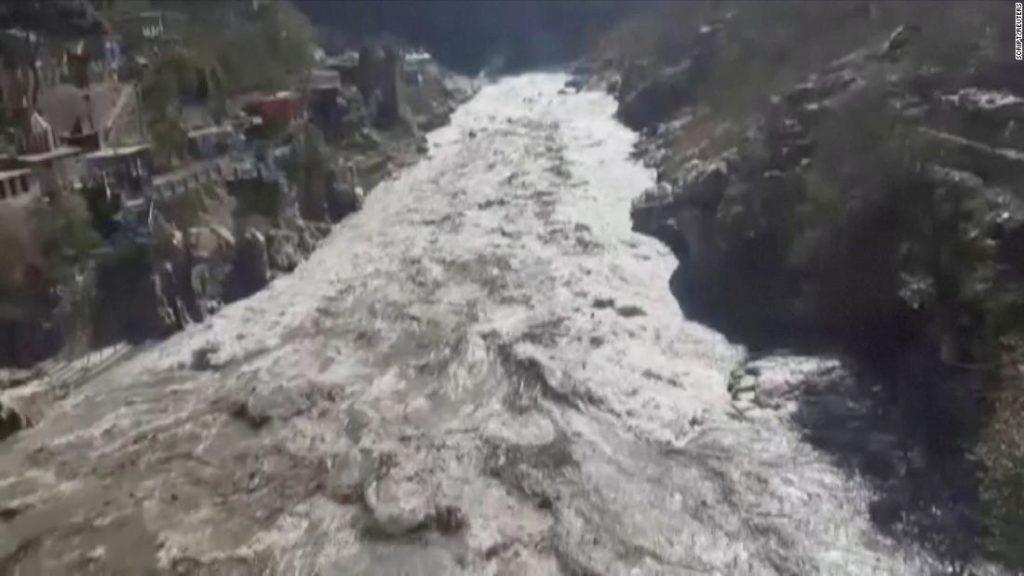 Uttarakhand flood: Glacier bursts in India triggering flash floods