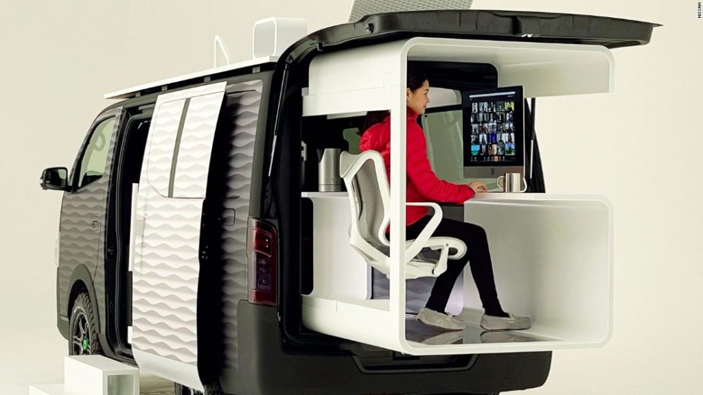 Nissan's 'office pod' imagines a new kind of remote working