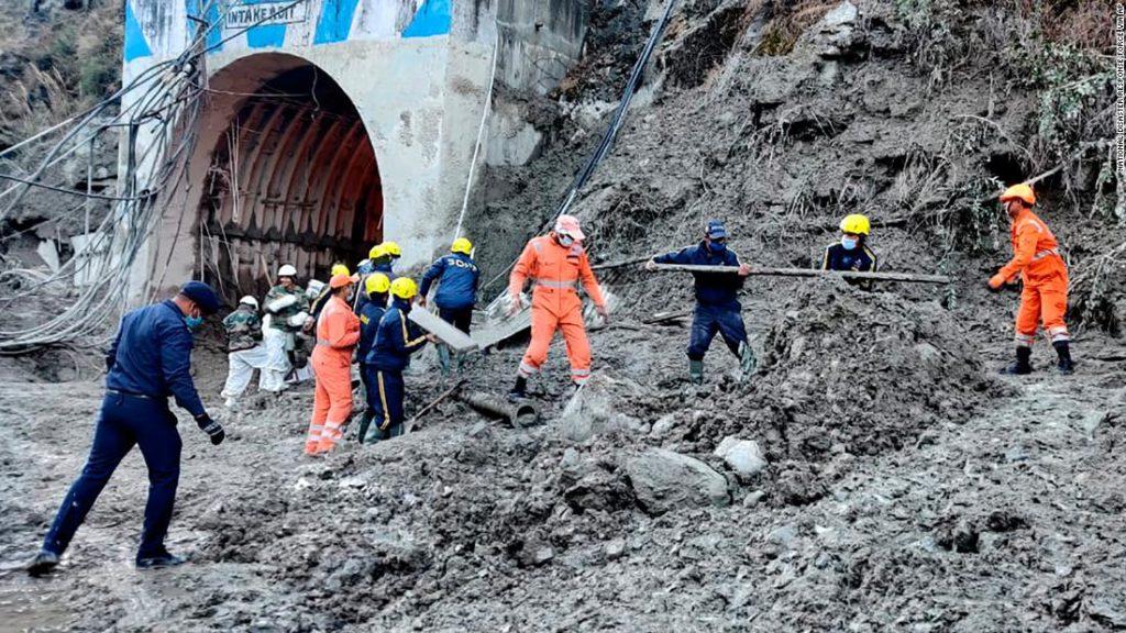 India glacier burst: Large-scale rescue operation underway in Uttarakhand