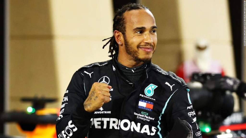 Lewis Hamilton and Mercedes agree one-year deal with joint commitment for 'greater diversity and inclusion'
