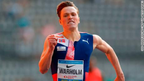 After the season of his life, Karsten Warholm wants to win athletics' 'moon race'
