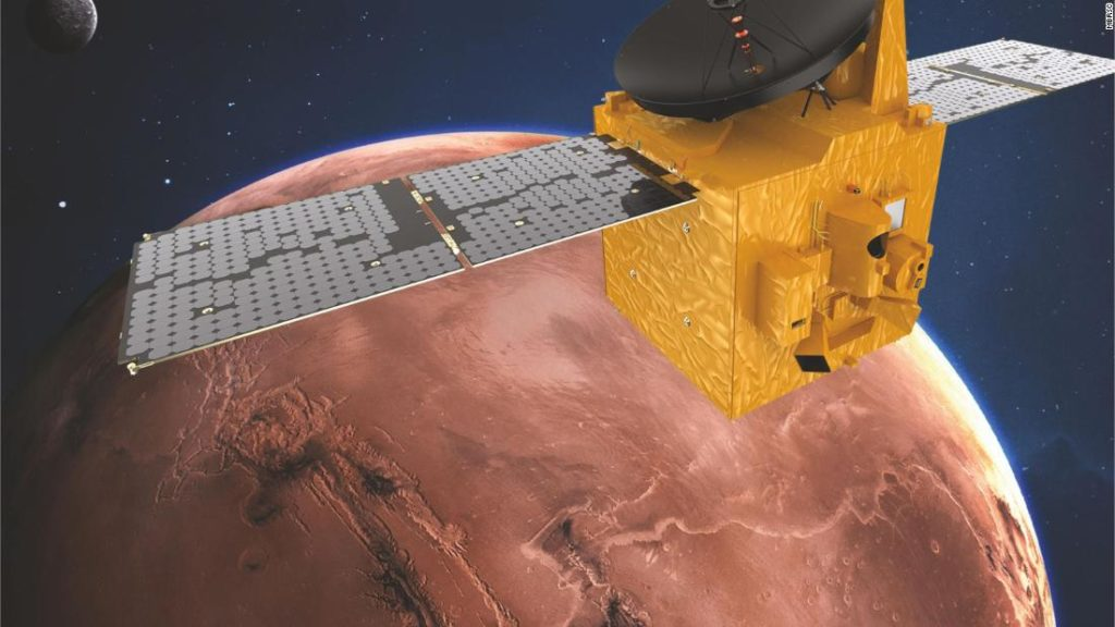 UAE Mars mission: Hope Probe is arriving at Mars and will attempt to orbit it