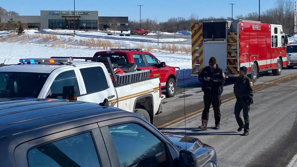 Buffalo, Minnesota: Shooting supect Gregory Ulrich is familiar to police, authorties say