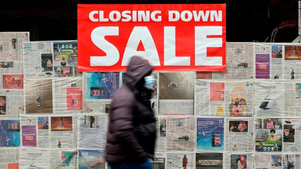 UK economy just had its worst year in three centuries