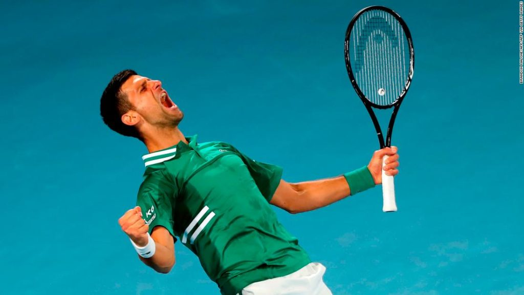 Novak Djokovic defeats Taylor Fritz in five-set epic as fans are told to leave court at Australian Open