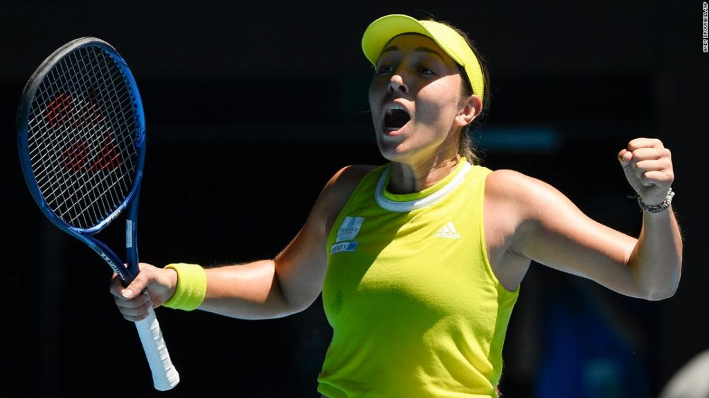 Australian Open: Jessica Pegula, daughter of NFL team owners, stuns No. 5 seed Elina Svitolina to make quarterfinals