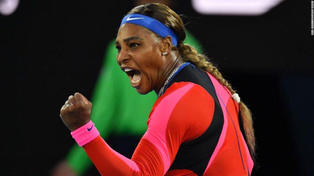 Australian Open: Serena Williams overcomes Simona Halep to set up blockbuster semifinal with Naomi Osaka