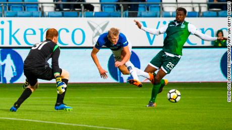 Erling Haaland spent two seasons developing at Molde before moving to Salzburg.