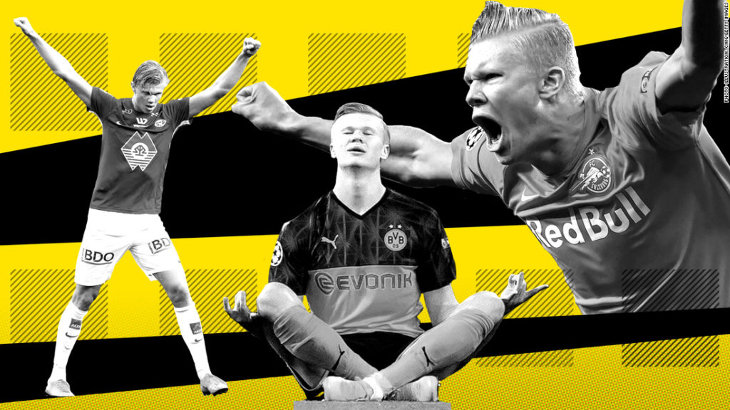 Erling Braut Haaland: The making of football's 'humble' superstar