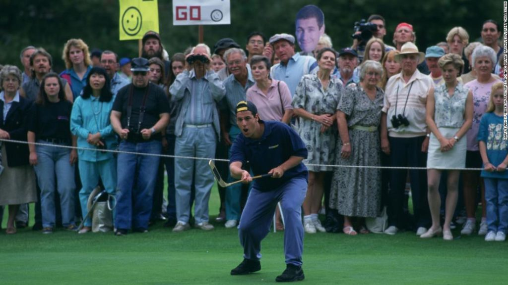 Happy Gilmore and Shooter McGavin are at it again! Twitter contest celebrates 25-year anniversary of movie