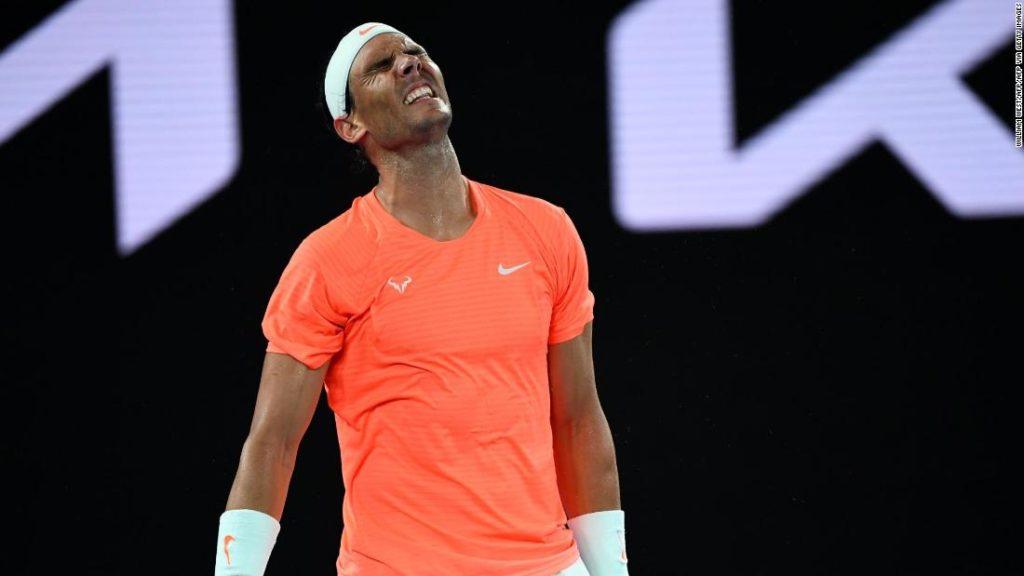 Australian Open: Rafael Nadal stunned by remarkable comeback as Stefanos Tsitsipas dumps him out