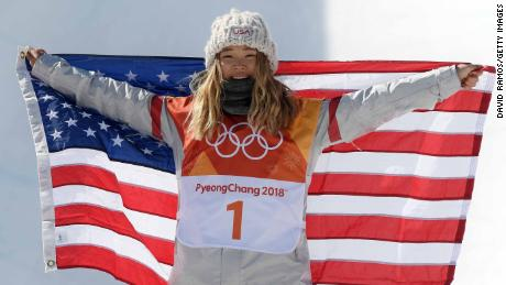 With parents from South Korea, Kim of Team USA was a poster child at the 2018 Winter Games.