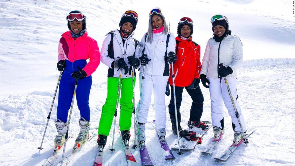 Black businesswomen bringing diversity to ski slopes