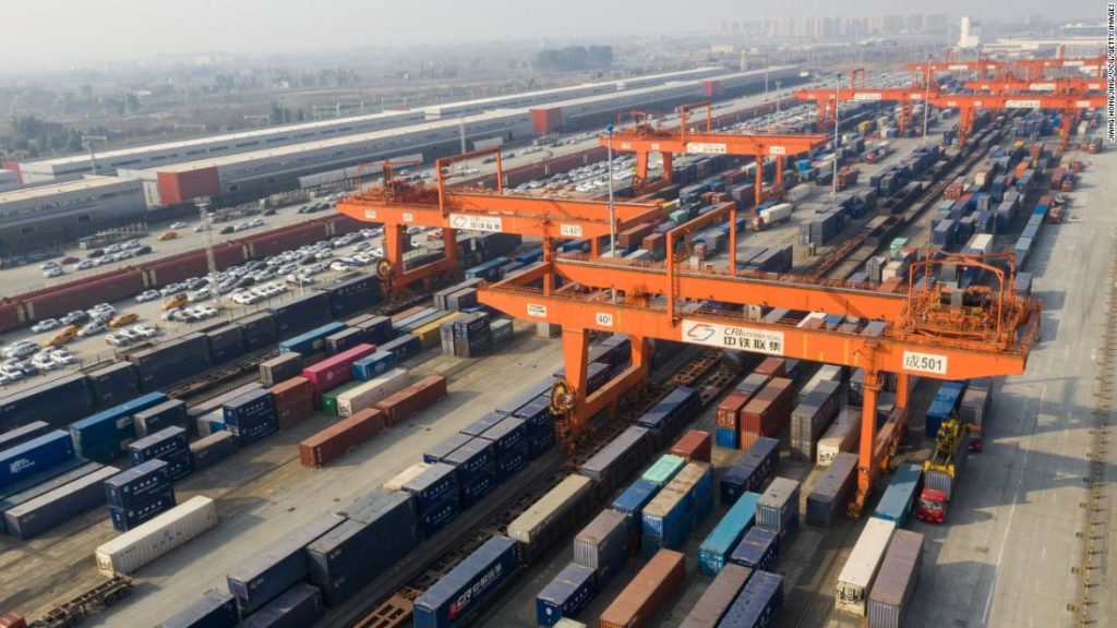 China, not the United States, is now Europe's biggest trading partner for goods
