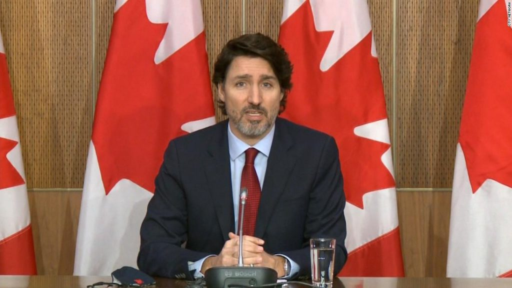 Trudeau warns of a dangerous third wave as Canada copes with a vaccine 'drought'