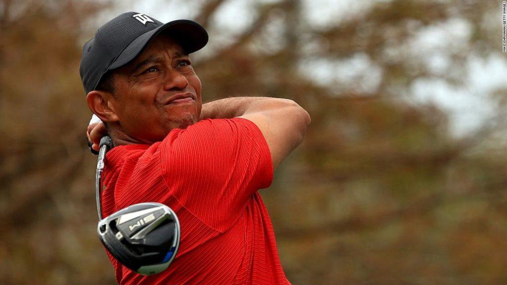 Crash latest setback in Tiger's chase of Jack Nicklaus
