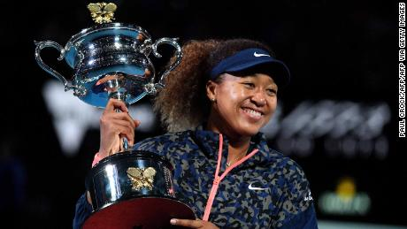 Recent winner of the Australian Open, Naomi Osaka is nominated for Sportswoman of the Year.