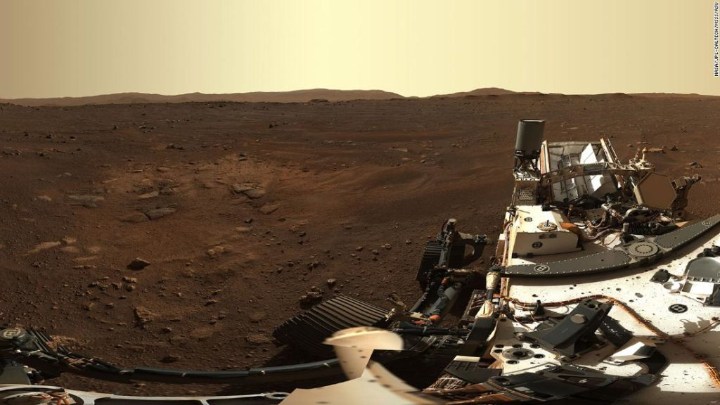 New Mars image from Perseverance rover landing site shows the red planet in high definition