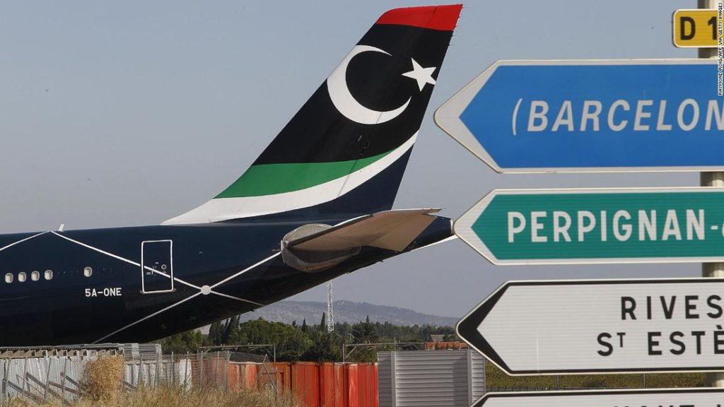 Why Gadhafi's private jet is stranded in southern France