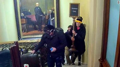 They stormed the Capitol to overturn the results of an election they didn't vote in