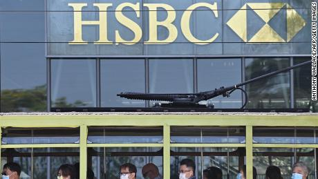 HSBC shares fall to 25-year low as fears for China business grow