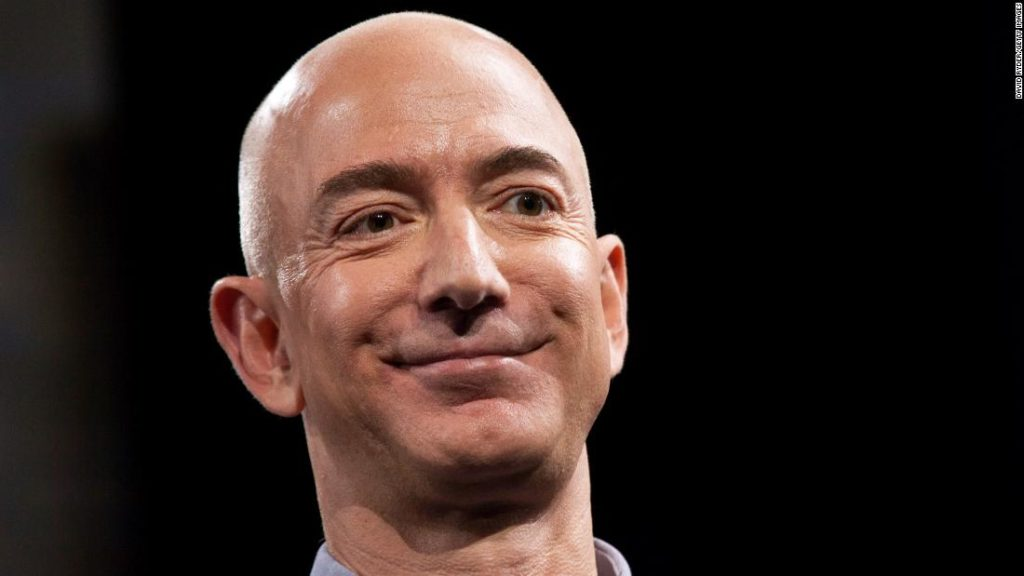How Bezos spends his immense wealth