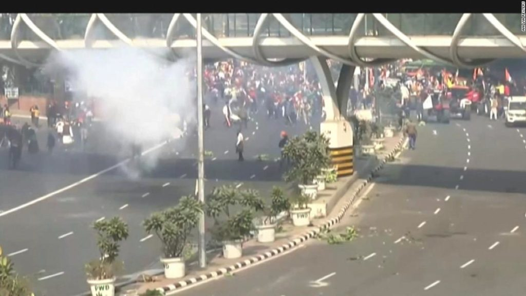 Indian farmers vow to fight on after violent protest