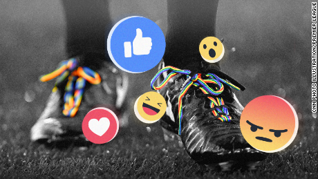 Hundreds of thousands across social media react angrily to Premier League LGBT campaign