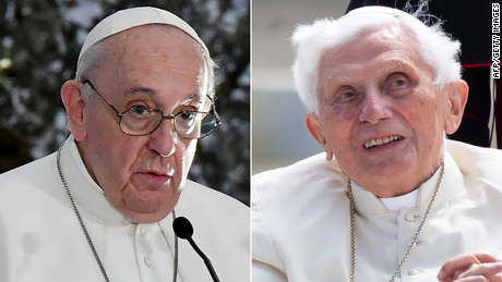Pope Francis and former Pope Benedict get first dose of Covid-19 vaccine