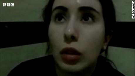 Dubai princess claims she is being held 'hostage' in secret video recordings