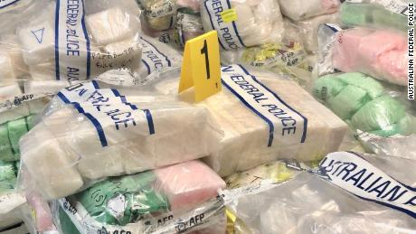 Australian police seize record-breaking $820 milllion methamphetamine haul