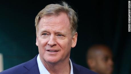 Roger Goodell: There were 'some anxious days' on handling Covid-19 during the NFL season