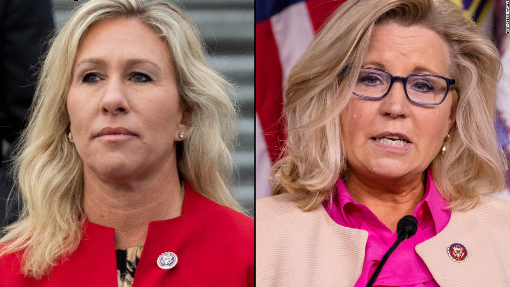 Trump powers GOP schism over Taylor Greene and Cheney