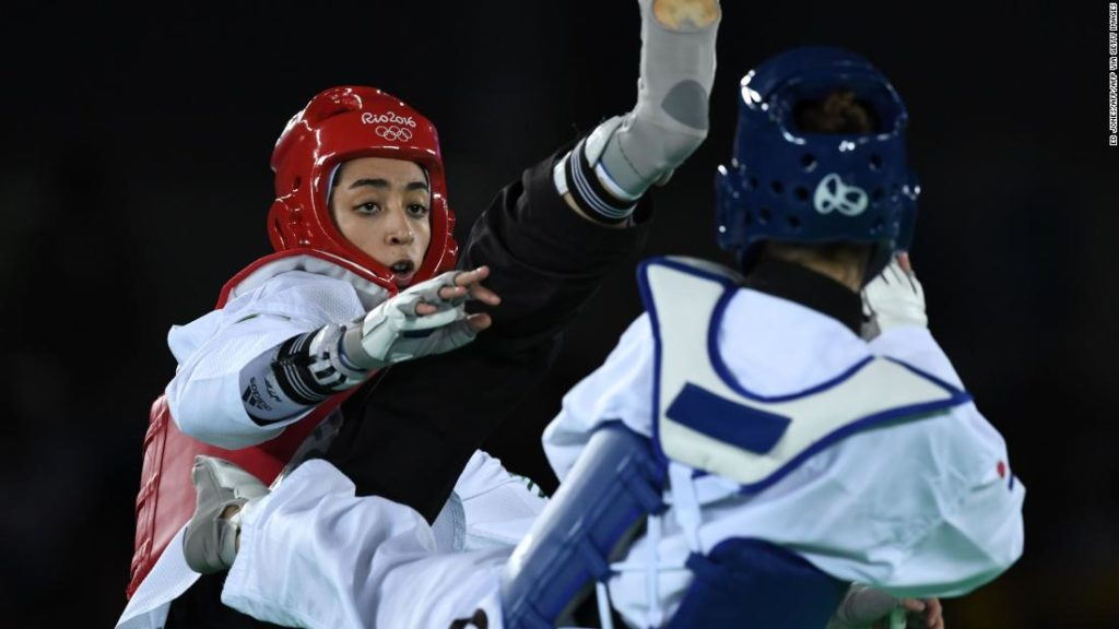 Iran's only female Olympic medalist, Kimia Alizadeh, to compete under white flag in Tokyo