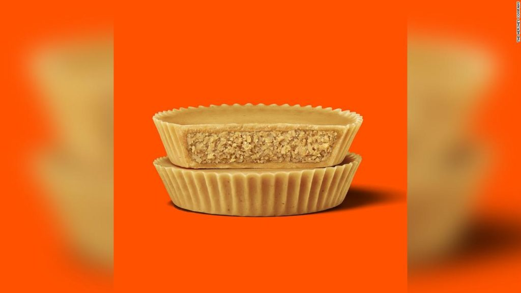 Reese's is launching a peanut butter cup with no chocolate