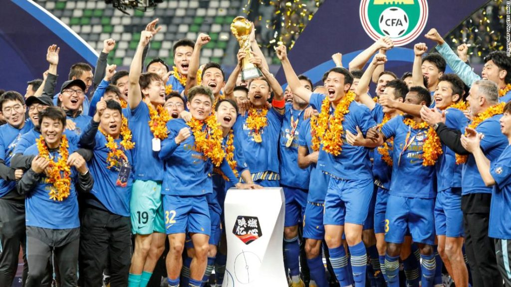 Jiangsu FC: Reigning Chinese Super League champion 'ceases operations'