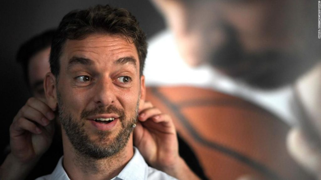 Pau Gasol: Spanish basketball star on helping others after retirement