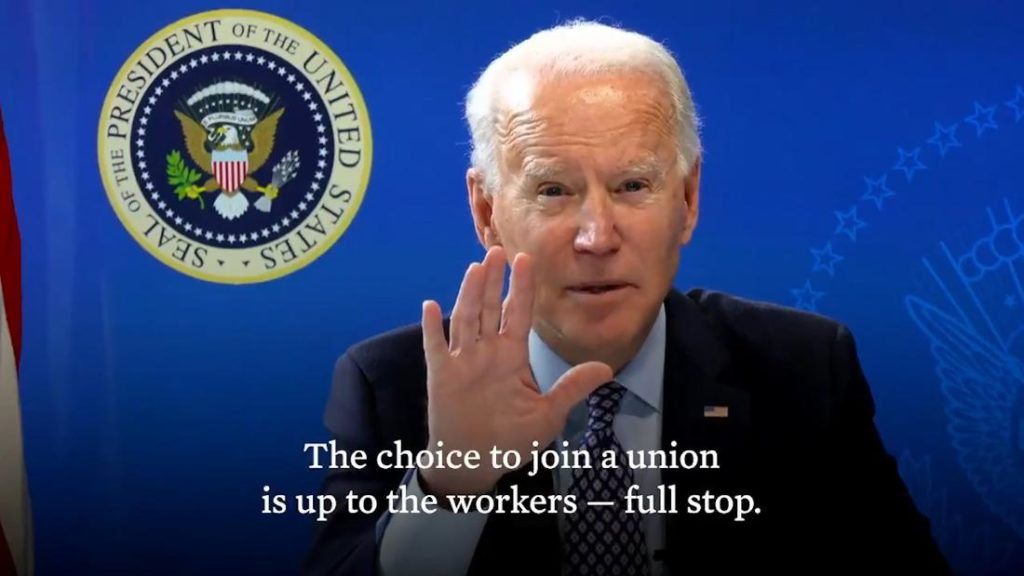 Biden's union promises and an interview with Hungary's Klubradio