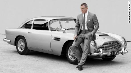 James Bond, played by actor Craig, has been racing around in an Aston Martin for decades.
