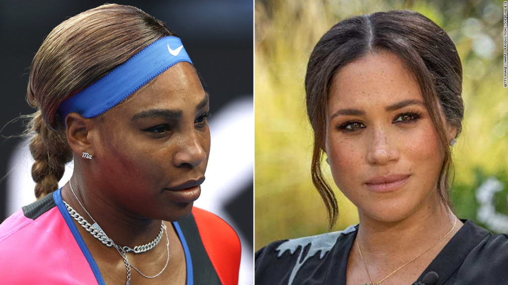 Serena Williams says she understood the 'pain and cruelty' suffered by Meghan