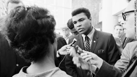 """Among other things, Ali was """"vilified for being outspoken,"""" according to academic Dr. Amira Rose Davis."""