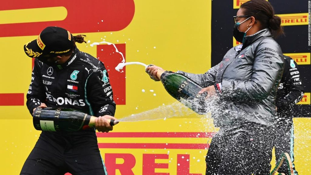 Formula 1: Stephanie Travers on the 'surreal' moment she became the first Black woman on an F1 podium