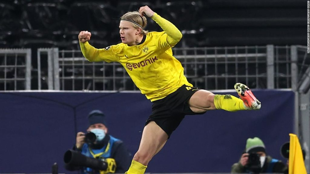 Erling Haaland breaks multiple records as his goal-scoring streak continues in the Champions League