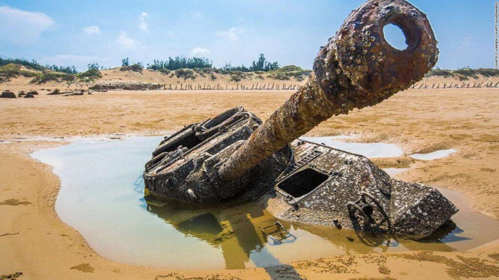 Welcome to Kinmen County, 'Taiwan's DMZ': Tanks, propaganda and tourists