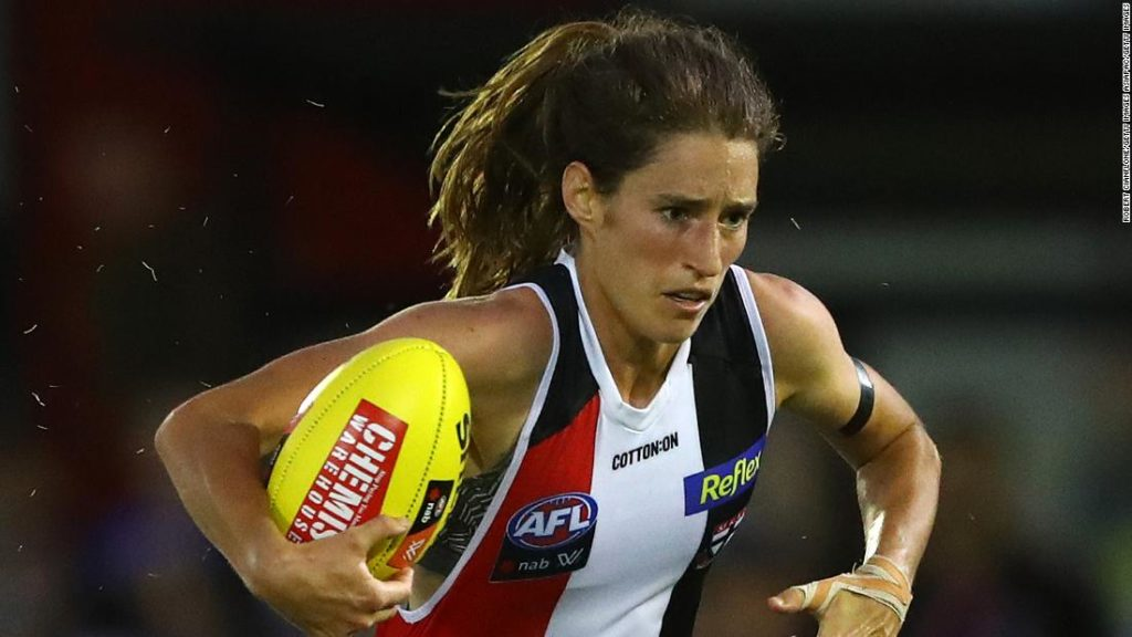 Cat Phillips: Frisbee and oval ball star fired up by fight for gender equality