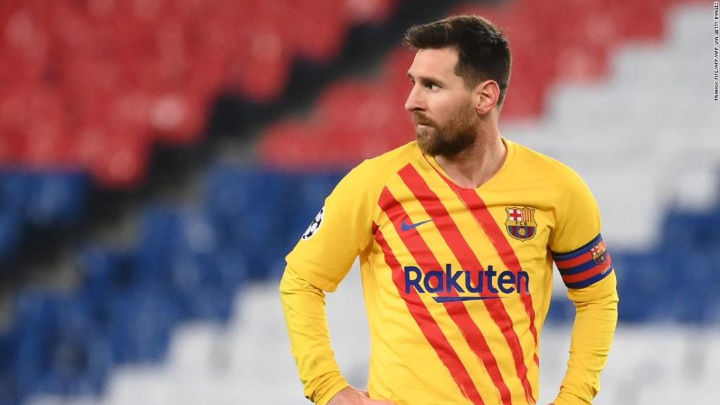 Champion League: Lionel Messi scores 'special' goal as Barcelona crashes out