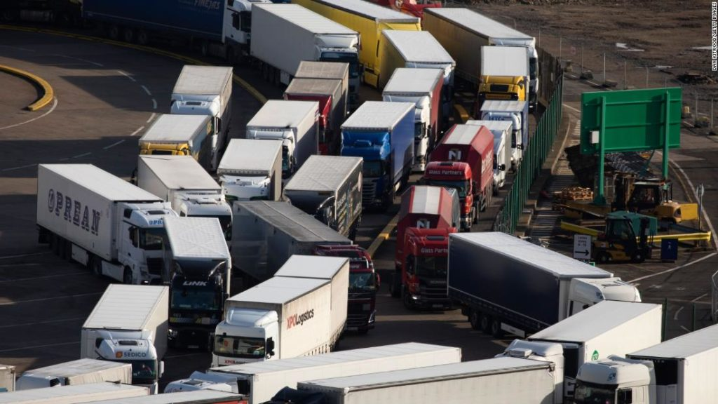 Brexit: UK exports to Europe fell 41% in January